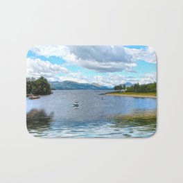Banks 'o Loch Lomond  Bath Mat