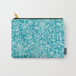 Flower Style Pattern XXIX Carry-All Pouch