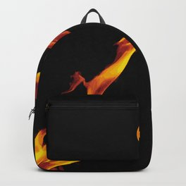 Let it fire to the moon - Fire sign - The Five Elements Backpack