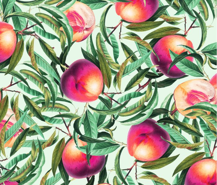 Sweet Peaches #society6 #decor #buyart Metal Travel Mug