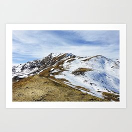 On Top of the World, Continental Divide Art Print