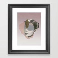 AUDREY HEPBURN - Actr3ss Framed Art Print