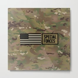 Special Forces (Camo) Metal Print