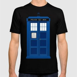 Doctor Who Police box T-shirt