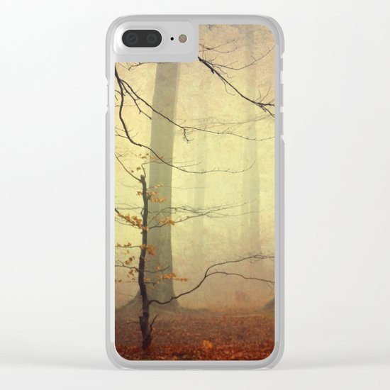 Forest Glow Clear iPhone Case