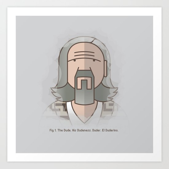 SOMETIMES THERE'S A MAN… Art Print
