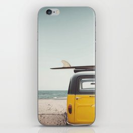 Surfing time iPhone Skin