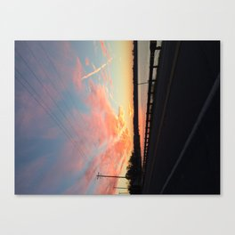 St. M's Sunset 4 Canvas Print
