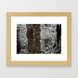 le vieux moulin à Chatsworth Framed Art Print
