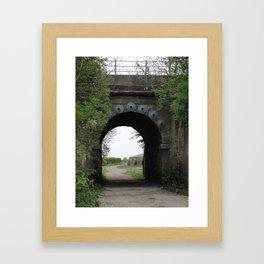 Bridge under the Railway Framed Art Print