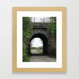 Bridge under the Railway Framed Art Print