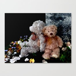 Teddy Bear Buddies Canvas Print
