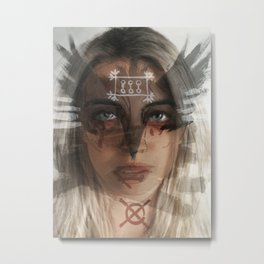 Locked in Tight Metal Print