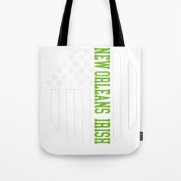 New Orleans Irish prints by Howdy Swag graphic Tote Bag