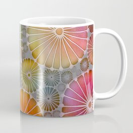 Abstract Floral Circles 4 Coffee Mug