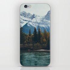mountain river iPhone & iPod Skin