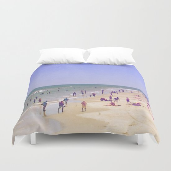 Life Is Better At the Beach Duvet Cover