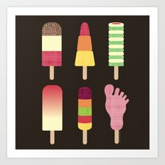 I Scream, You Scream, We All Scream For Ice cream Art Print