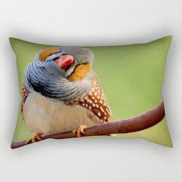 Bird Art - Change Your Opinions Rectangular Pillow