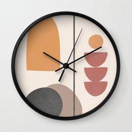 Abstract Minimal Art 02 Wall Clock