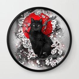 I'm a Cat Wall Clock