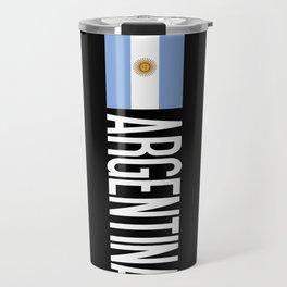 Argentina: Argentinian Flag & Argentina Travel Mug