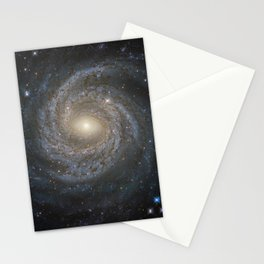 Spiral Galaxy NGC 6814 Stationery Cards