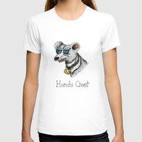 honda T-shirts featuring Honda Civet by Mike Rubenstein