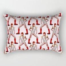 David Bowie Choreography Rectangular Pillow