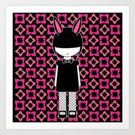 Lady Bunny Art Print