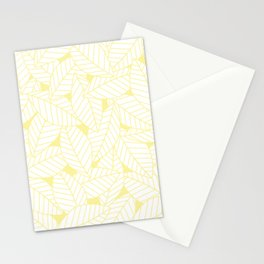 Leaves in Daisy Stationery Cards