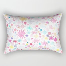 big bloom Rectangular Pillow