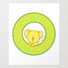 cardcaptor sakura kerochan Art Print