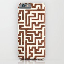 maze in brandywine iPhone Case