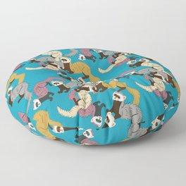 Mustelids are the best antidepressants #6 Floor Pillow