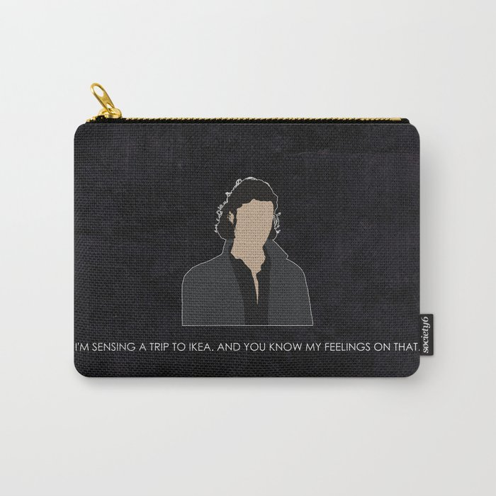 Being Human - John Mitchell Carry-All Pouch