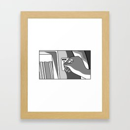 That Song Reminds Me Of You Framed Art Print