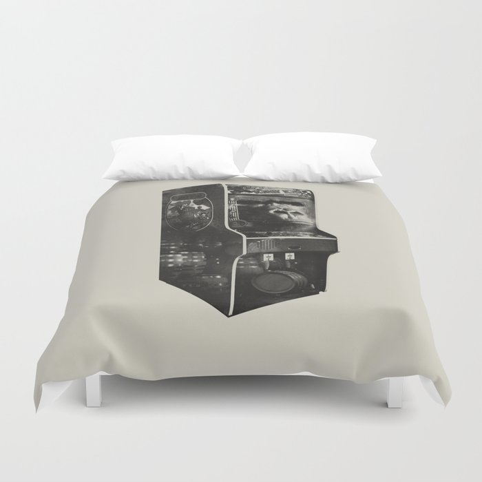 DONKEY KONG ARCADE MACHINE Duvet Cover