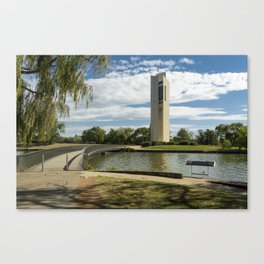 National Carillon Bell Tower, Canberra, Australia Canvas Print