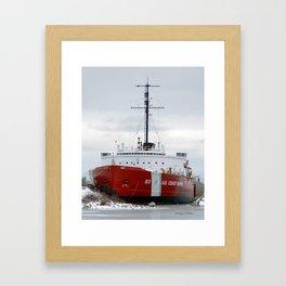 USCG Cutter Mackinaw 83 Framed Art Print
