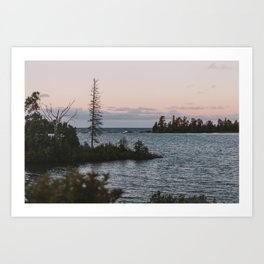 The View From Copper Harbor Art Print