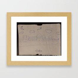 11/18/15 Framed Art Print