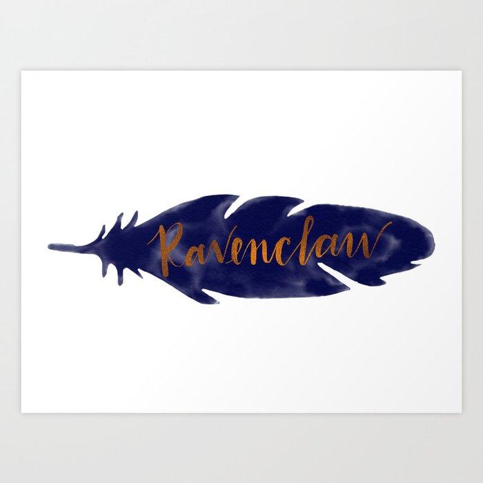 Ravenclaw Feather Kunstdrucke