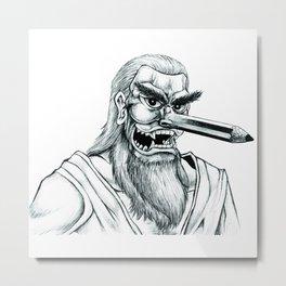 Folk Religion & Pencil01 Metal Print