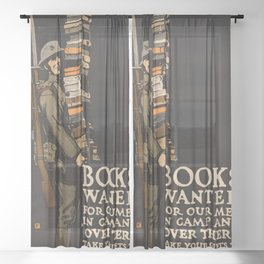 army Sheer Curtain