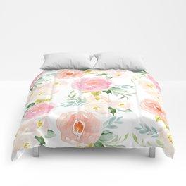 Floral 02 Comforters
