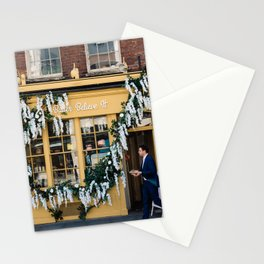 The pastry shop Stationery Cards