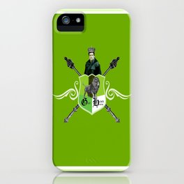 King Hawthorne iPhone Case
