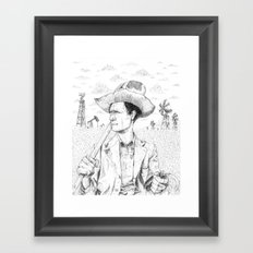 For we have labored long and toilsome Framed Art Print