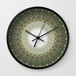 New Color Pyramidal Mandala 39 Wall Clock